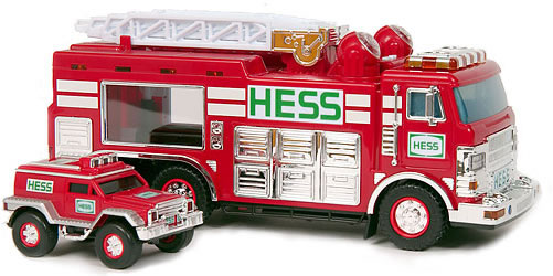 2005 HESS Emergency Truck with Rescue Vehicle NEW