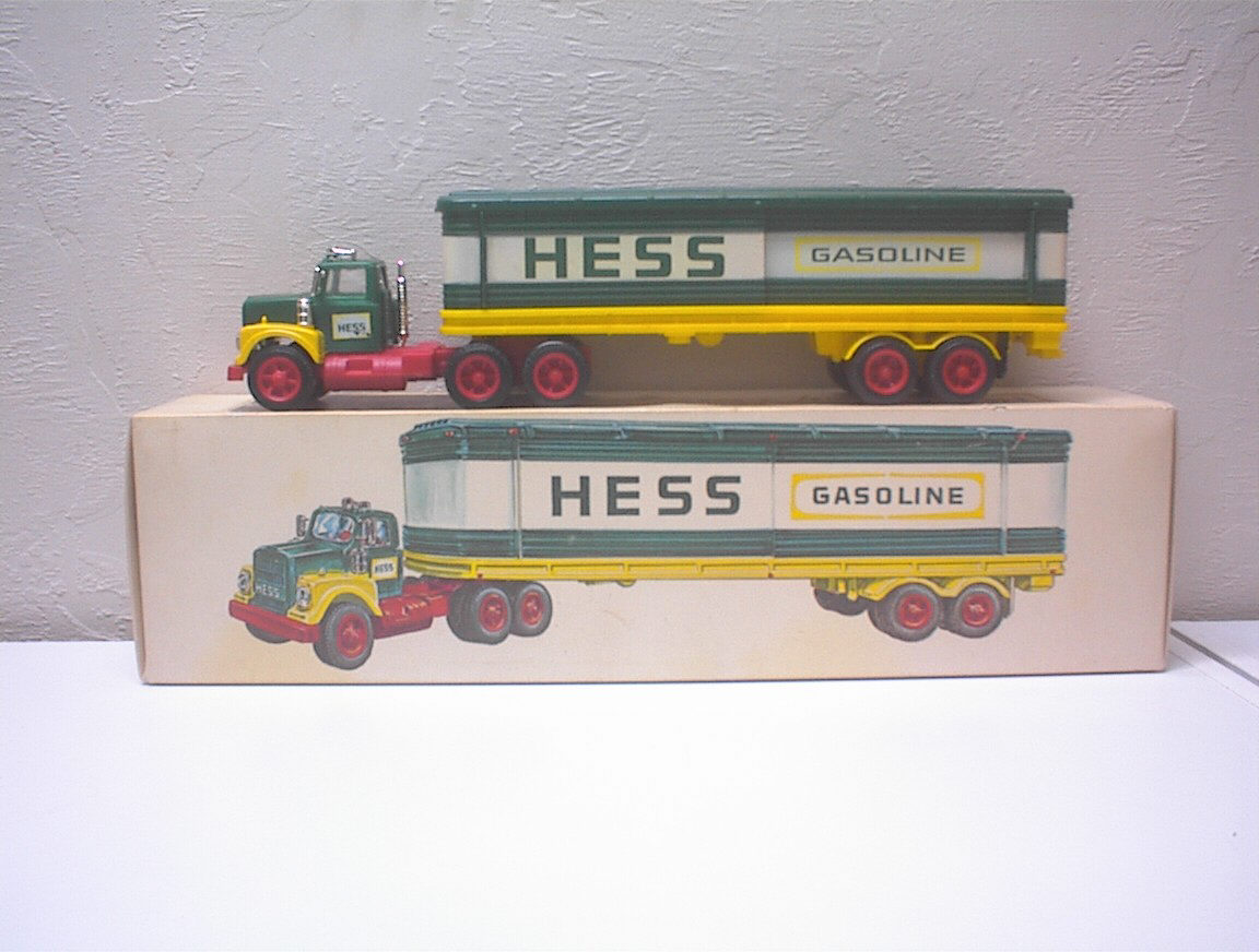 Hess 1975 USA Barrel Truck