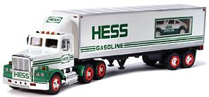 Hess 1992 White Tractor Trailer Transport Truck